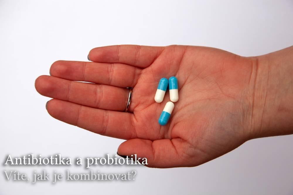 antibiotika a probiotika